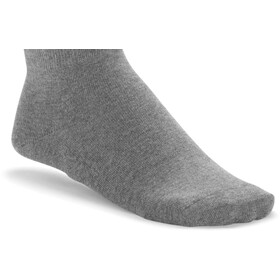 Birkenstock Cotton Sole Sneaker Socks Women gray mel